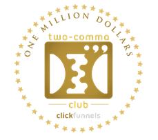 ClickFunnels - 2 Comma Club Award
